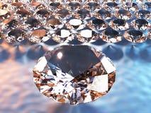 Gioielli di lusso fini del diamante Fotografie Stock Libere da Diritti