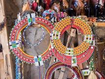 Gioielli di Maasai Immagine Stock