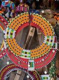 Gioielli di Maasai Fotografia Stock Libera da Diritti