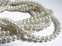 Gioielli naturali - perla Immagini Stock