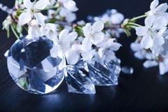 Gioiello naturale - diamante immagine stock