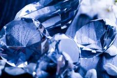 Gioiello naturale - diamante fotografie stock