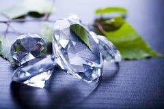 Gioiello naturale - diamante fotografia stock
