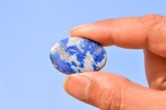Gioiello prezioso della pietra della roccia dei semi Immagine Stock Libera da Diritti
