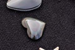 Gioiello prezioso della pietra della roccia dei semi Fotografie Stock Libere da Diritti