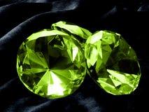 Gioiello verde smeraldo Immagine Stock Libera da Diritti