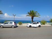 Gioiosa Marea, Sicily, Italy. SEPT 6, 2016: Gioiosa Marea is popular recreational tourist center royalty free stock photos