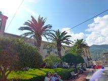 Gioiosa Marea, Sicily, Italy. SEPT 6, 2016: Gioiosa Marea is popular recreational tourist center stock image