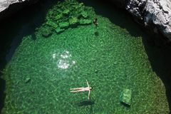 Giola, Thassos-Insel, Griechenland Stockbild