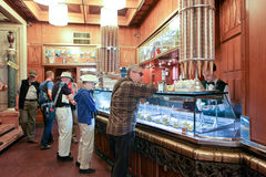 The Giolitti coffee bar in Rome Royalty Free Stock Photos