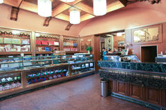 The Giolitti coffee bar in Rome Royalty Free Stock Photography