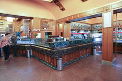 The Giolitti coffee bar in Rome Stock Photography