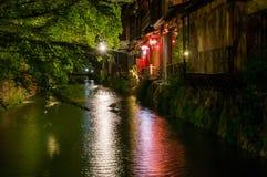 Gion区,京都 库存图片