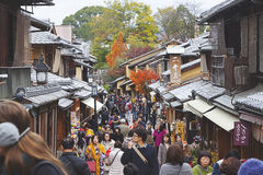 Gion area in Kyoto ,Japan Stock Photography