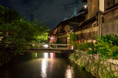 Gion District, Kyoto Royalty Free Stock Photo