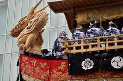 Gion festiwalu ` s pławik, Kyoto Japonia obraz stock