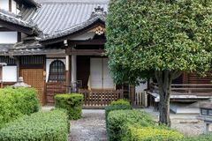 Gion japanese historic architecture royalty free stock photos