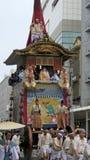 Gion Matsuri在京都 免版税库存照片