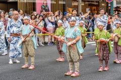 Gion Matsuri στο Κιότο, Ιαπωνία †«στις 17 Ιουλίου 2016 Στοκ φωτογραφία με δικαίωμα ελεύθερης χρήσης
