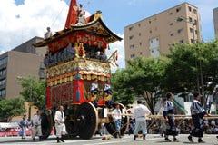 Gion Matsuri de la mayoría del festival famoso en Japón Imagen de archivo libre de regalías
