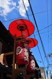 Gion Matsuri-festival in de zomer, Kyoto Japan Royalty-vrije Stock Foto's
