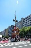 Gion Matsuri-festival in de zomer, Kyoto Japan Royalty-vrije Stock Fotografie