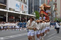 Gion Matsuri festival in Kyoto Japan Stock Photography