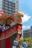 Gion Matsuri Festival, los festivales más famosos de Japón foto de archivo