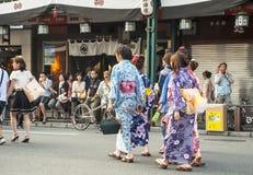 Gion område, Japan Arkivfoto