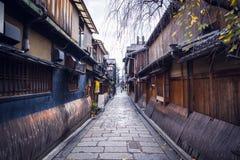 Gion street stock photo