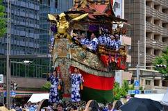 Gionfestival in de zomer, Kyoto Japan Stock Fotografie