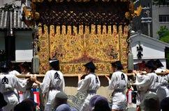 Gionfestival in de zomer, Kyoto Japan Royalty-vrije Stock Fotografie