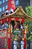 Gionmatsuri parede in de zomer, Kyoto Japan Royalty-vrije Stock Fotografie