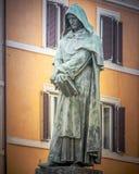 Giordano Bruno Fotografía de archivo libre de regalías