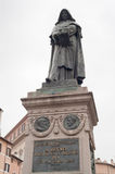 Giordano Bruno monument on Campo de Fiori, Rome Stock Photo