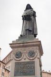 Giordano Bruno monument on Campo de Fiori, Rome. Italy Stock Photo