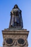 Giordano bruno rome. Statue giordano bruno rome campo de fiori Royalty Free Stock Images
