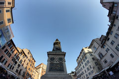 Giordano Bruno statue in Rome Royalty Free Stock Photography