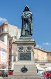 Giordano Bruno staty Arkivbilder