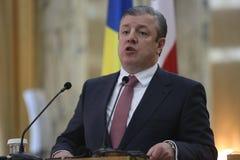 Giorgi Kvirikashvili, der Premierminister von Georgia stockbilder