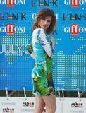 Giorgia Wurth al Giffoni Film Festival 2011 Stockbilder