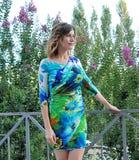 Giorgia Wurth al Giffoni Film Festival 2011 Lizenzfreie Stockfotos