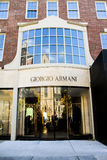 Giorgio Armani, Boston, MA. Royalty Free Stock Photo