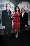 Giorgio Armani, Clint Eastwood, Dina Eastwood Stock Afbeeldingen