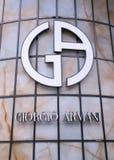 Giorgio Armani Stock Image