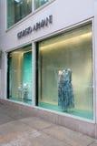 Giorgio Armani in New York Stock Photo