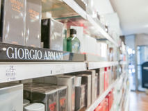 Giorgio Armani perfumes Royalty Free Stock Images