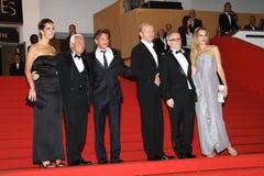 Giorgio Armani, Sean Penn, Petra Nemcova and Paul Stock Image