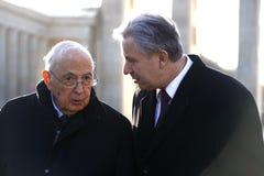 Giorgio Napolitano, Klaus Wowereit Stock Image