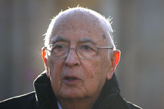 Giorgio Napolitano Stock Photo